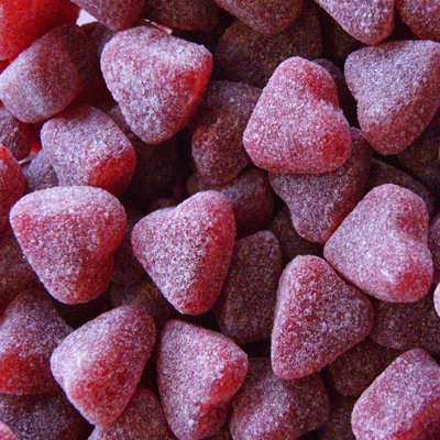 Red Hot Cinnamon Hearts - Lola's Sugar Rush